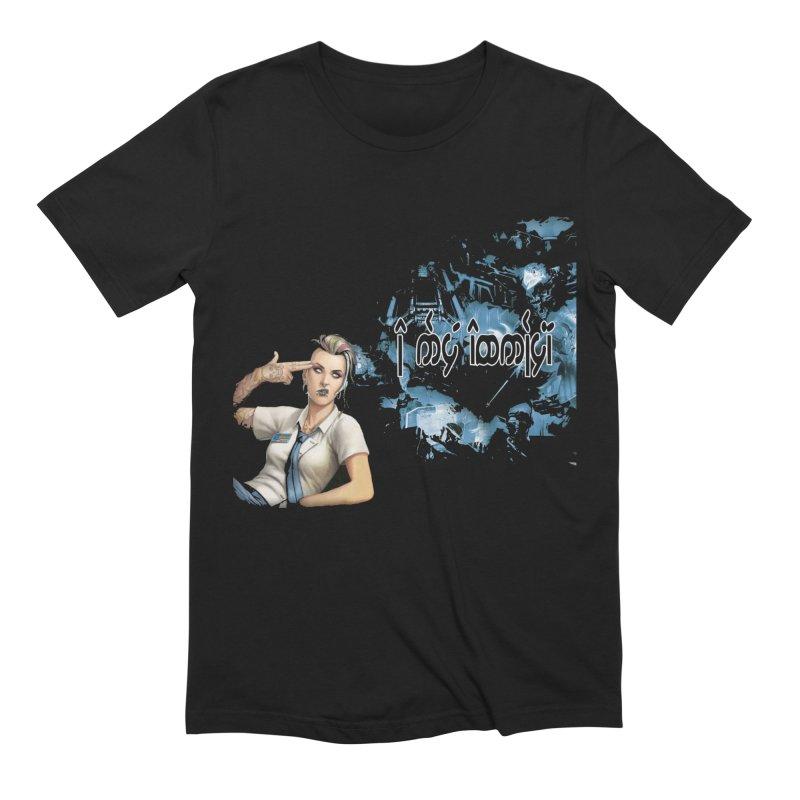 Run faster, Netrunner! Men's Extra Soft T-Shirt by Q101 Shop