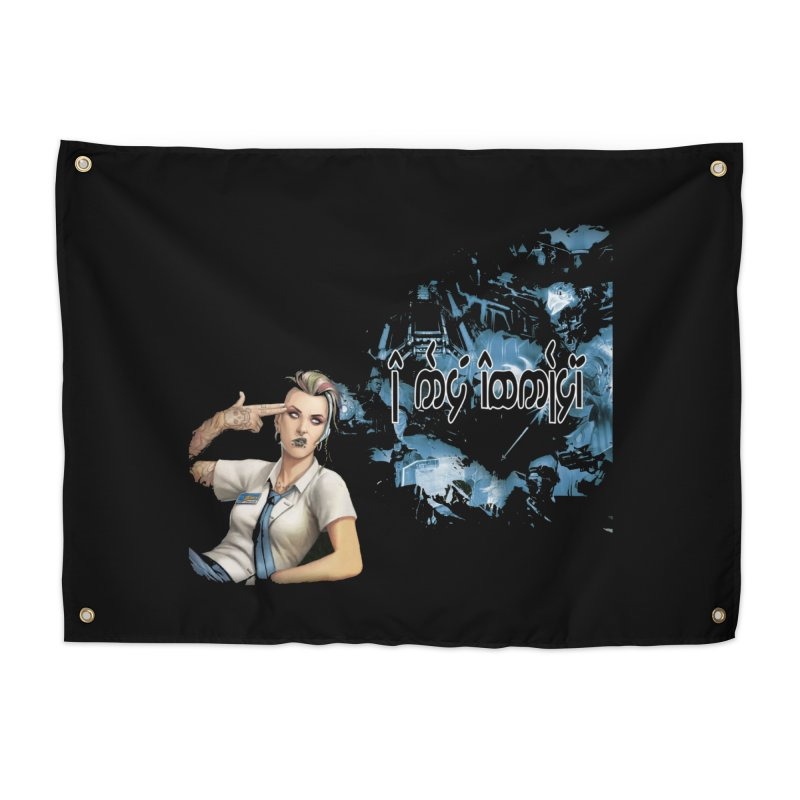 Run faster, Netrunner! Home Tapestry by Q101 Shop
