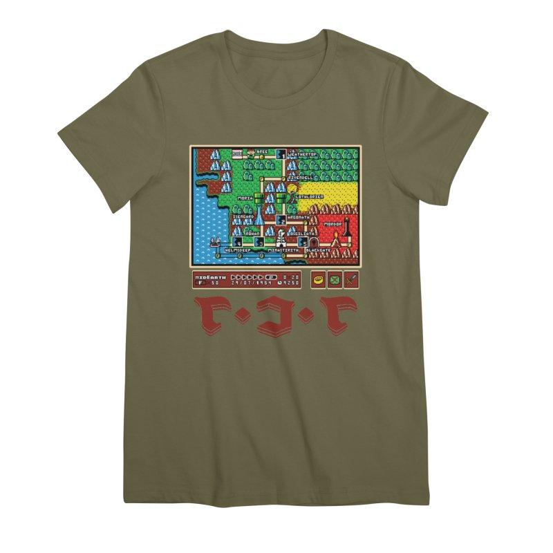 Super Fellowship Bros Women's Premium T-Shirt by Q101 Shop