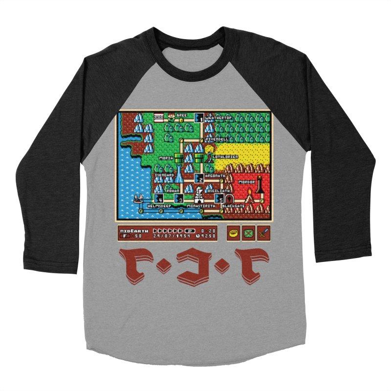 Super Fellowship Bros Men's Baseball Triblend Longsleeve T-Shirt by Q101 Shop