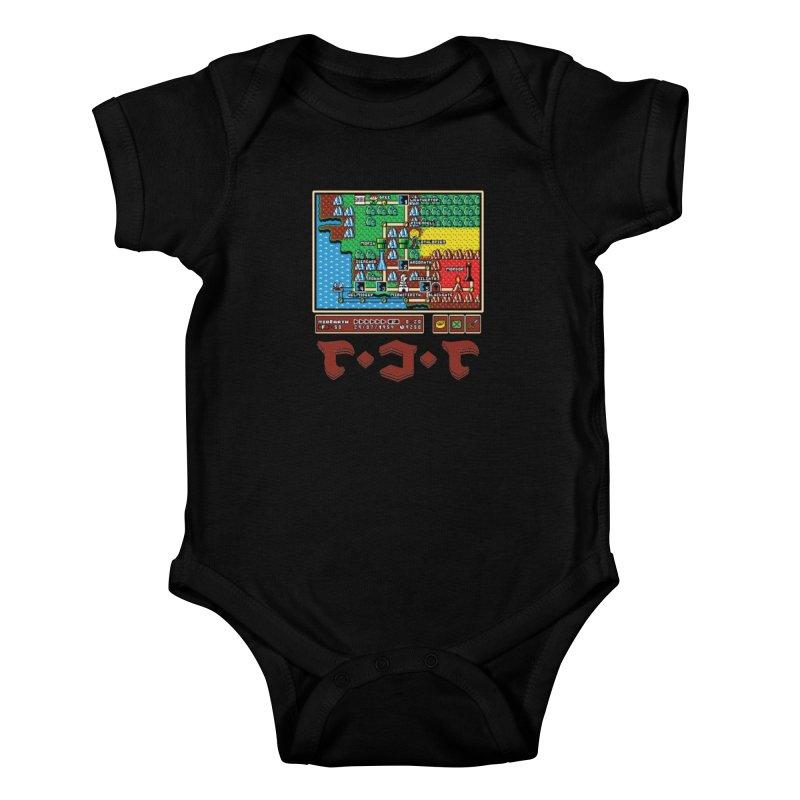 Super Fellowship Bros Kids Baby Bodysuit by Q101 Shop