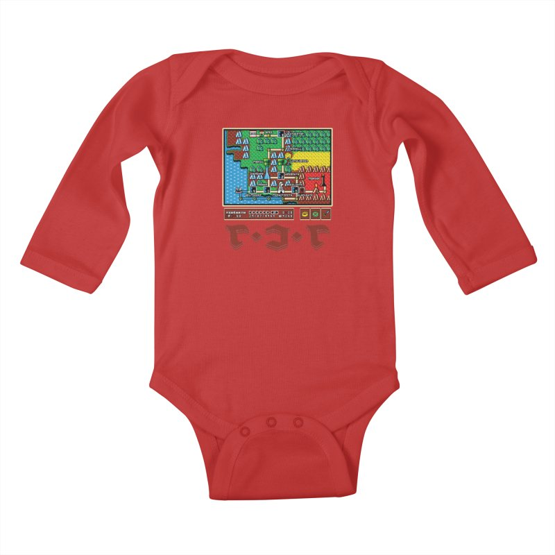 Super Fellowship Bros Kids Baby Longsleeve Bodysuit by Q101 Shop