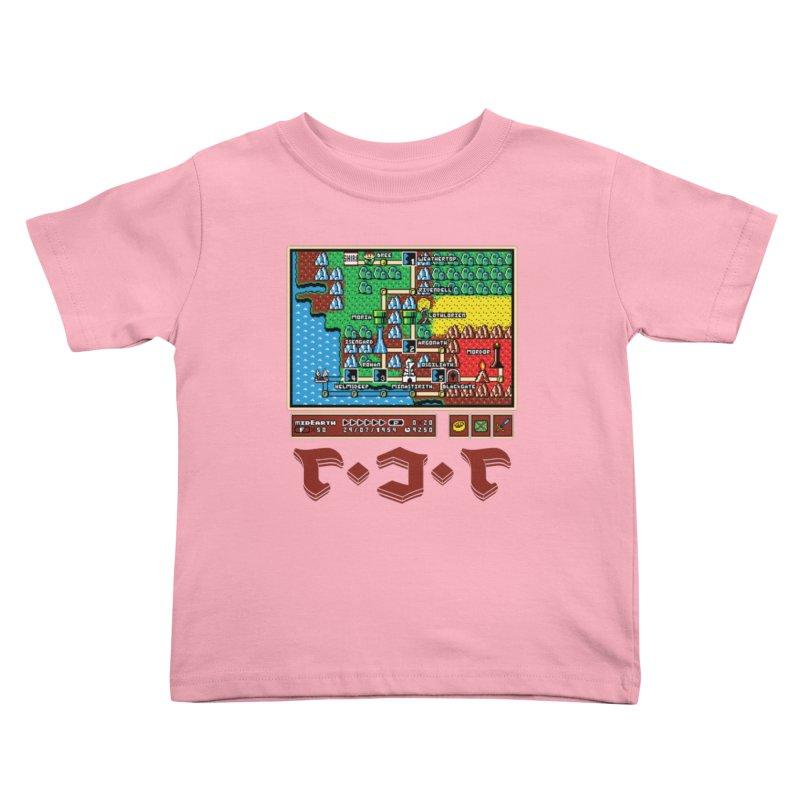 Super Fellowship Bros Kids Toddler T-Shirt by Q101 Shop