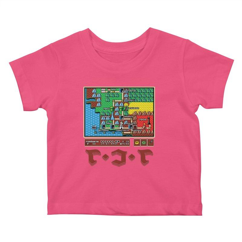 Super Fellowship Bros Kids Baby T-Shirt by Q101 Shop