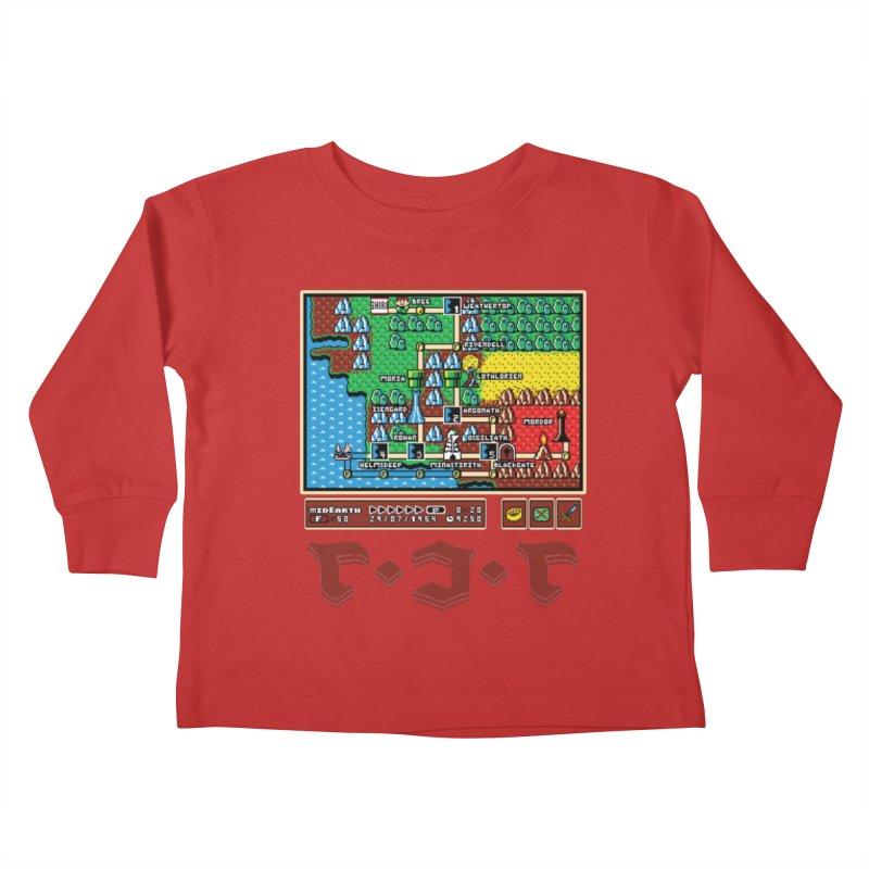 Super Fellowship Bros Kids Toddler Longsleeve T-Shirt by Q101 Shop