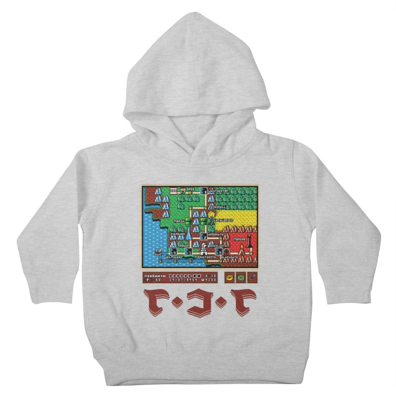 Super Fellowship Bros Kids Toddler Pullover Hoody by Q101 Shop