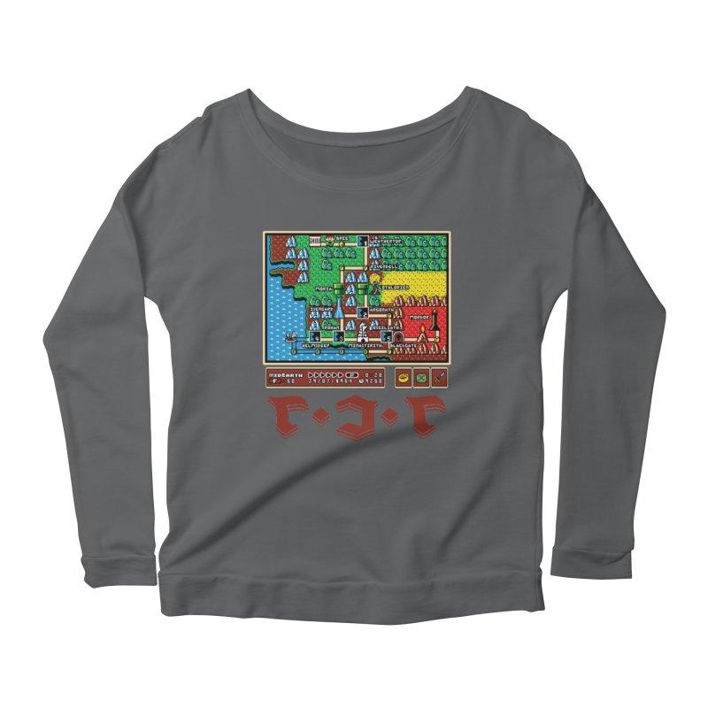 Super Fellowship Bros Women's Scoop Neck Longsleeve T-Shirt by Q101 Shop