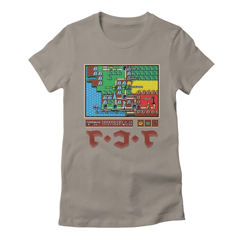 Super Fellowship Bros Women's Fitted T-Shirt by Q101 Shop