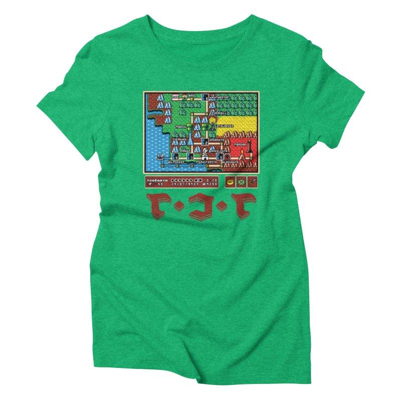 Super Fellowship Bros Women's Triblend T-Shirt by Q101 Shop