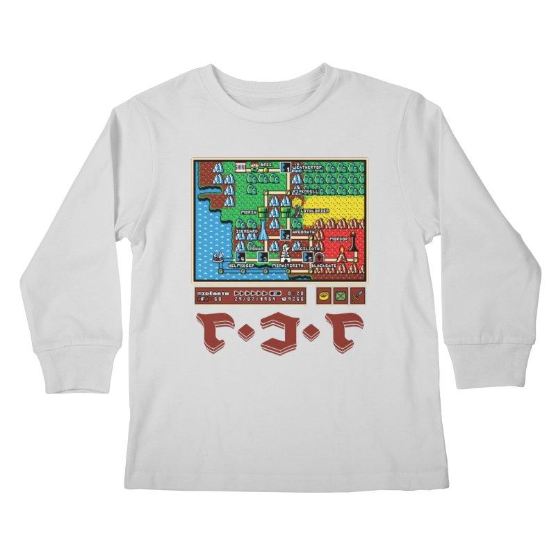 Super Fellowship Bros Kids Longsleeve T-Shirt by Q101 Shop