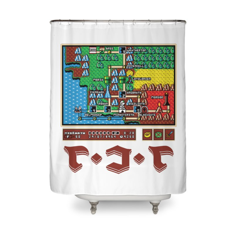 Super Fellowship Bros Home Shower Curtain by Q101 Shop
