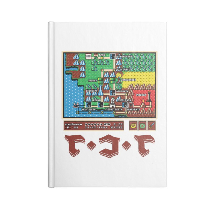 Super Fellowship Bros Accessories Lined Journal Notebook by Q101 Shop