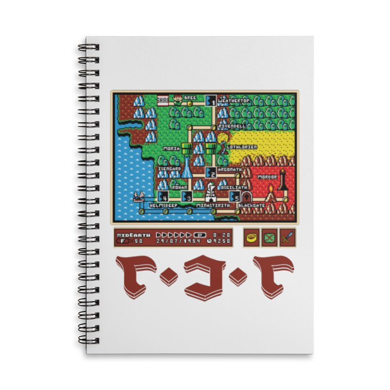 Super Fellowship Bros Accessories Lined Spiral Notebook by Q101 Shop