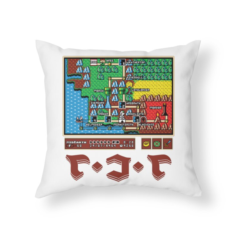 Super Fellowship Bros Home Throw Pillow by Q101 Shop