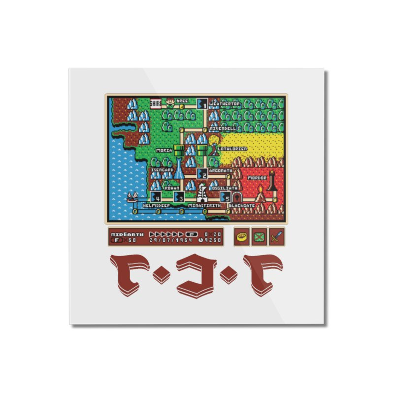 Super Fellowship Bros Home Mounted Acrylic Print by Q101 Shop