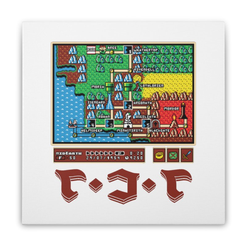 Super Fellowship Bros Home Stretched Canvas by Q101 Shop