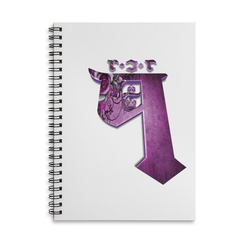 Q101 Coirë 2.0 Accessories Lined Spiral Notebook by Q101 Shop