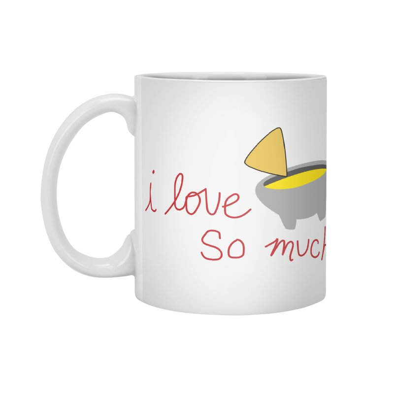 I Love Queso So Much - Logo Accessories Standard Mug by I Love Queso So Much - Shop