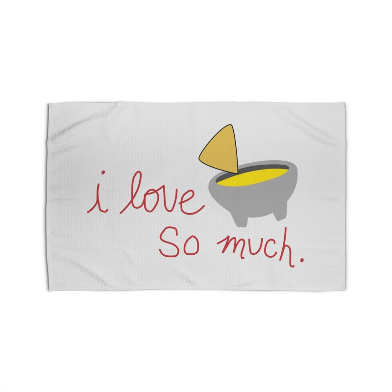 I Love Queso So Much - Logo Home Rug by I Love Queso So Much - Shop