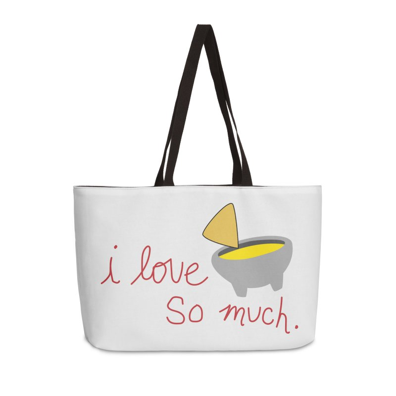 I Love Queso So Much - Logo Accessories Bag by I Love Queso So Much - Shop