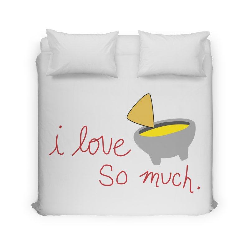 I Love Queso So Much - Logo Home Duvet by I Love Queso So Much - Shop