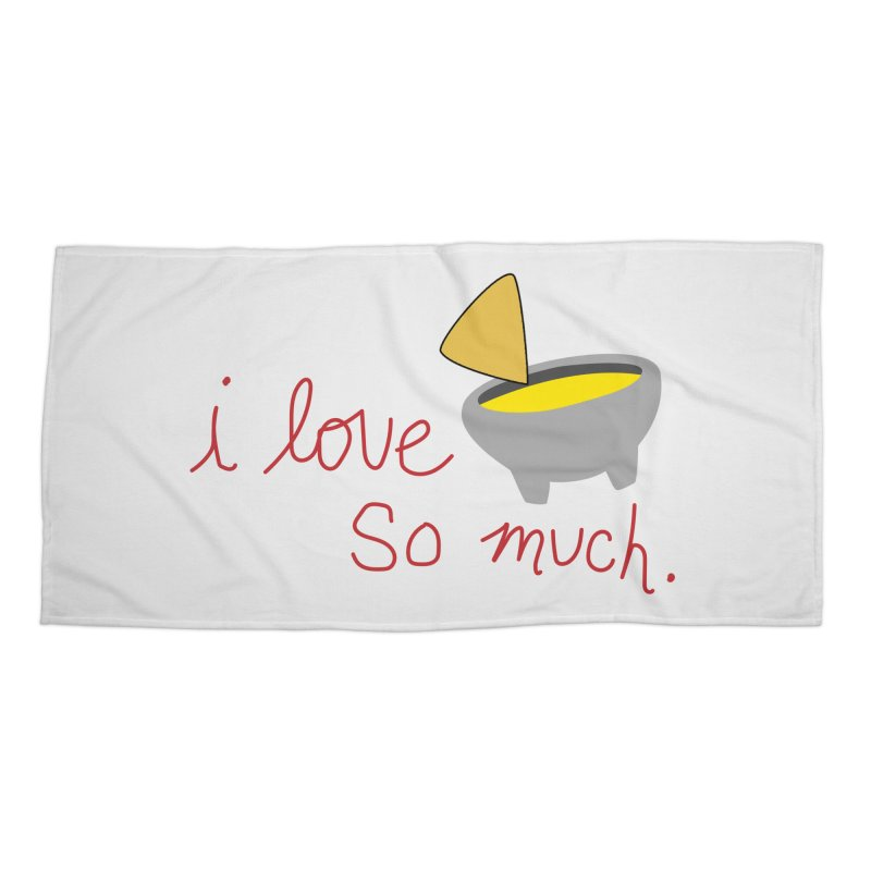 I Love Queso So Much - Logo Accessories Beach Towel by I Love Queso So Much - Shop