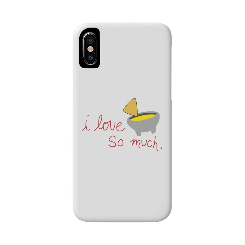 I Love Queso So Much - Logo Accessories Phone Case by I Love Queso So Much - Shop