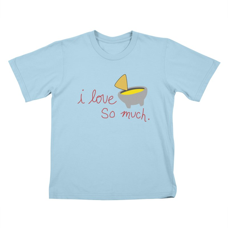 I Love Queso So Much - Logo Kids T-Shirt by I Love Queso So Much - Shop