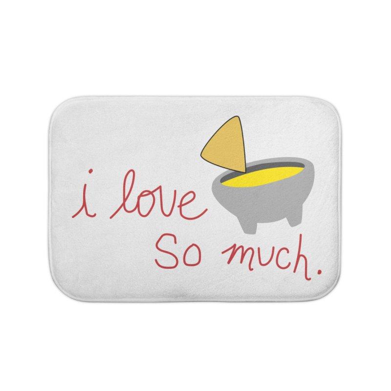 I Love Queso So Much - Logo Home Bath Mat by I Love Queso So Much - Shop