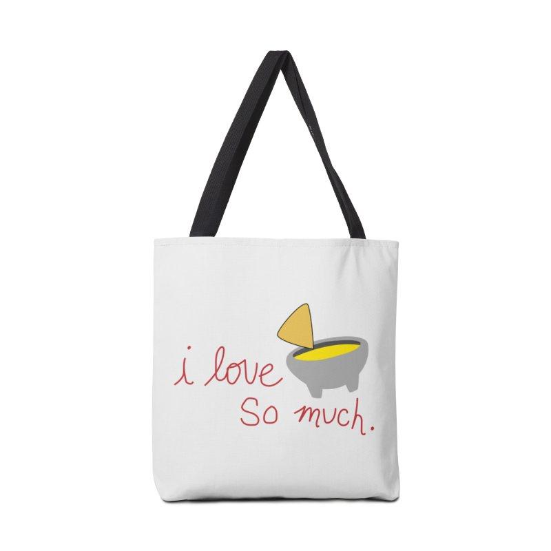 I Love Queso So Much - Logo Accessories Tote Bag Bag by I Love Queso So Much - Shop