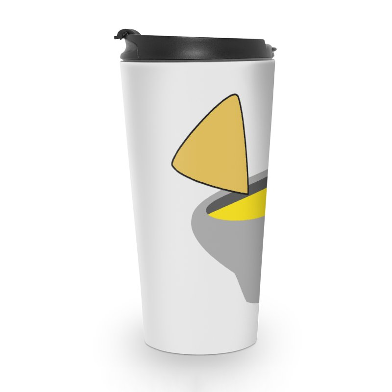 I Love Queso So Much - Chips and Queso Logo Accessories Travel Mug by I Love Queso So Much - Shop