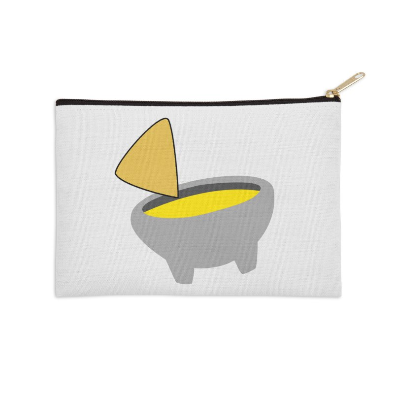 I Love Queso So Much - Chips and Queso Logo Accessories Zip Pouch by I Love Queso So Much - Shop