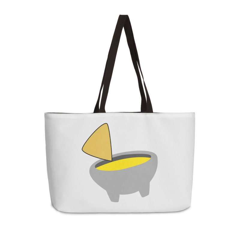 I Love Queso So Much - Chips and Queso Logo Accessories Weekender Bag Bag by I Love Queso So Much - Shop