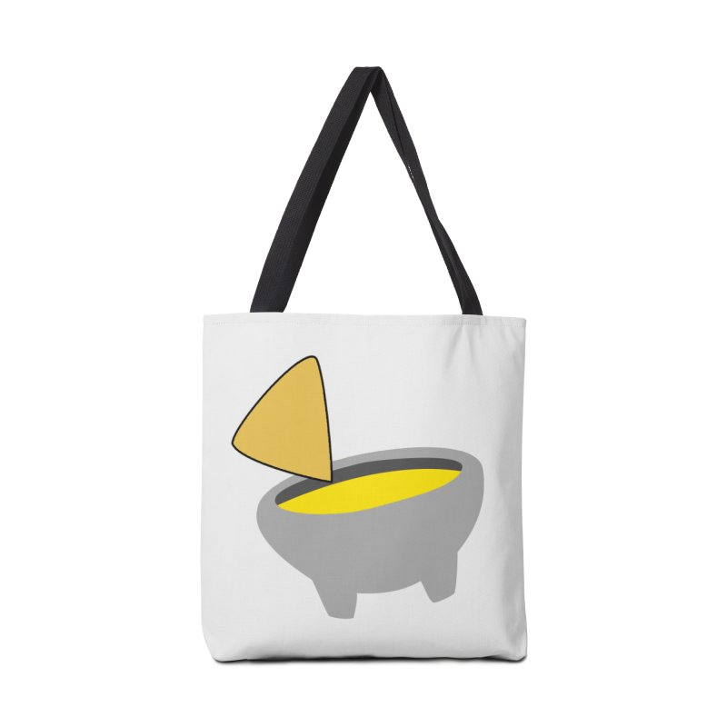 I Love Queso So Much - Chips and Queso Logo Accessories Tote Bag Bag by I Love Queso So Much - Shop