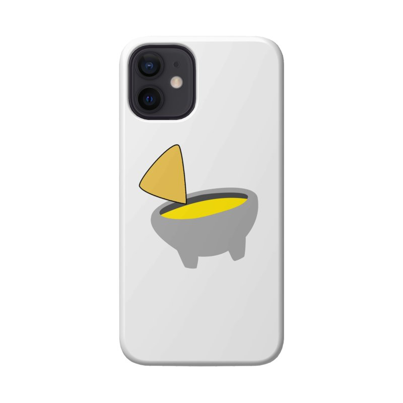 I Love Queso So Much - Chips and Queso Logo Accessories Phone Case by I Love Queso So Much - Shop