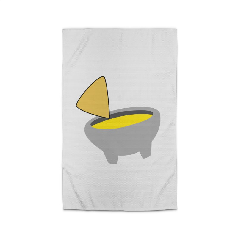 I Love Queso So Much - Chips and Queso Logo Home Rug by I Love Queso So Much - Shop