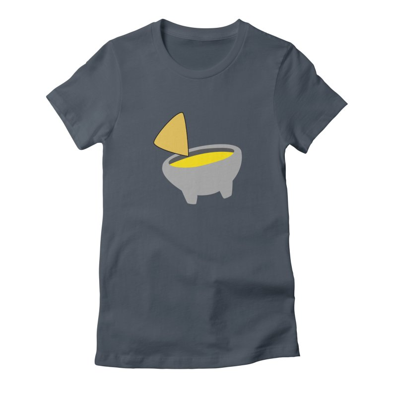 I Love Queso So Much - Chips and Queso Logo Women's Fitted T-Shirt by I Love Queso So Much - Shop