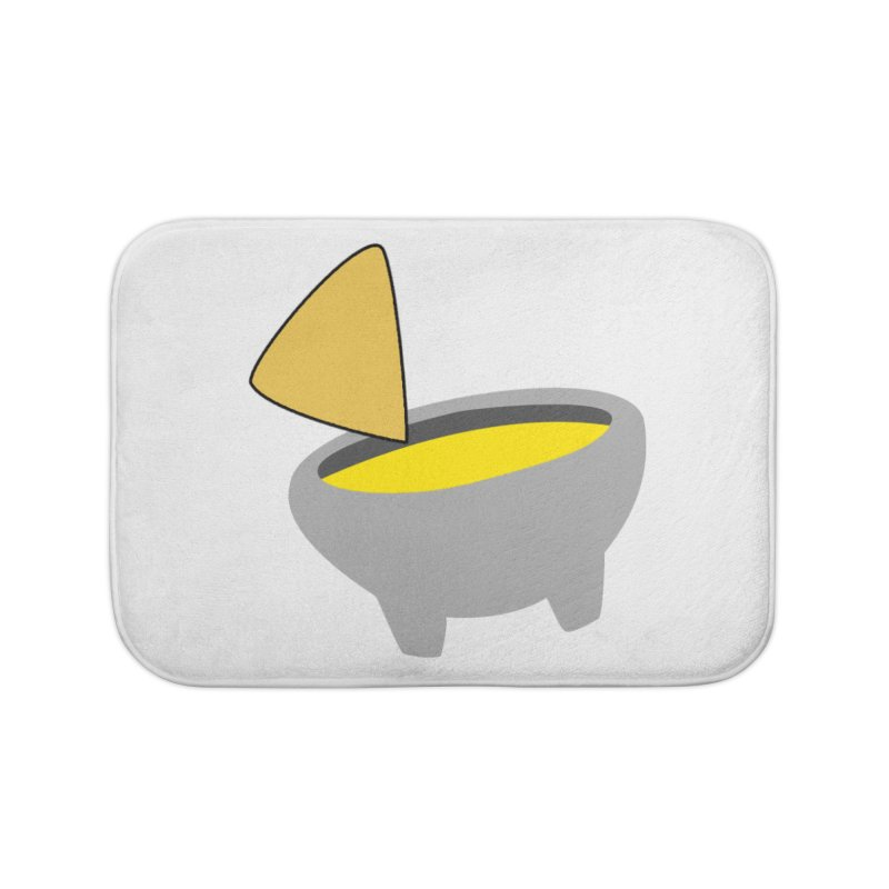 I Love Queso So Much - Chips and Queso Logo Home Bath Mat by I Love Queso So Much - Shop