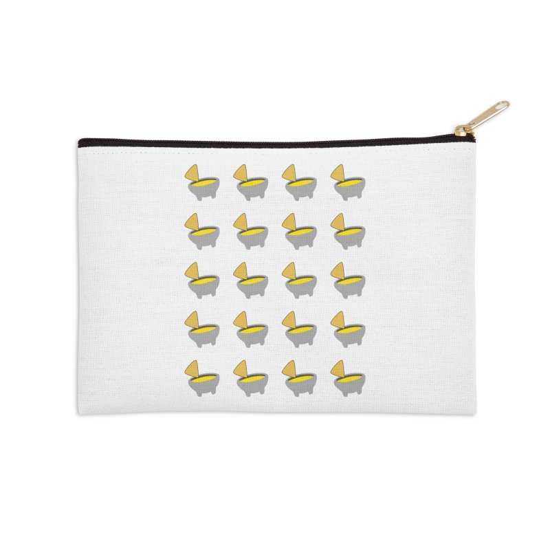 Infinity Queso Accessories Zip Pouch by I Love Queso So Much - Shop