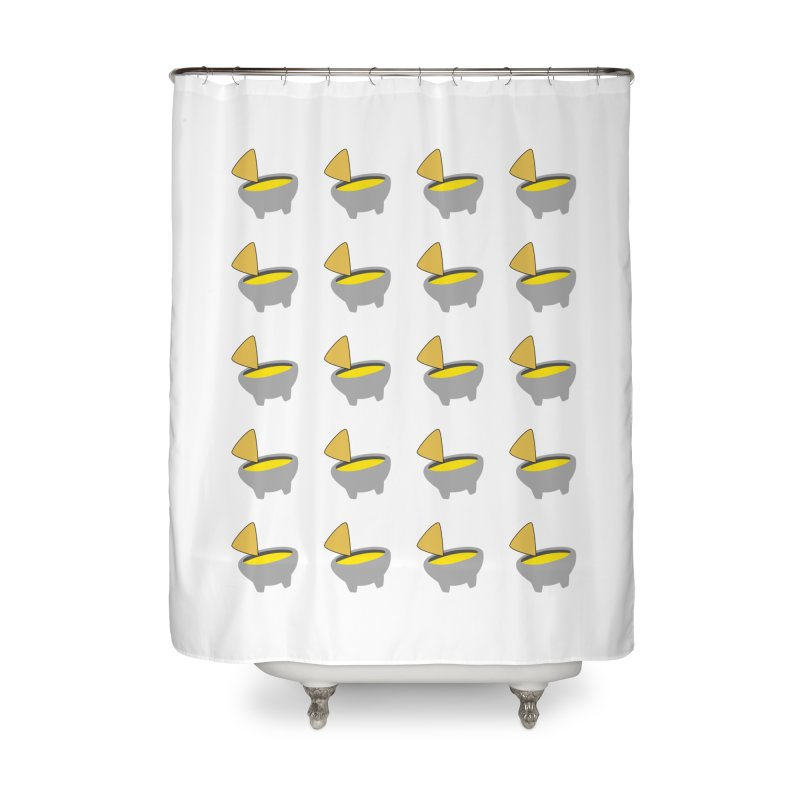 Infinity Queso Home Shower Curtain by I Love Queso So Much - Shop