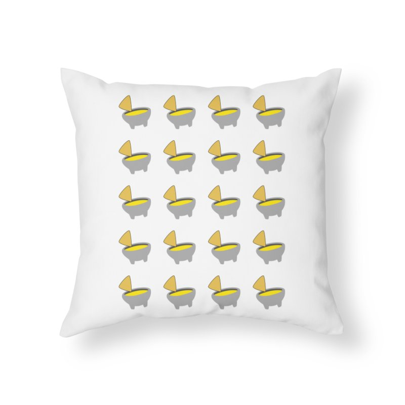 Infinity Queso Home Throw Pillow by I Love Queso So Much - Shop
