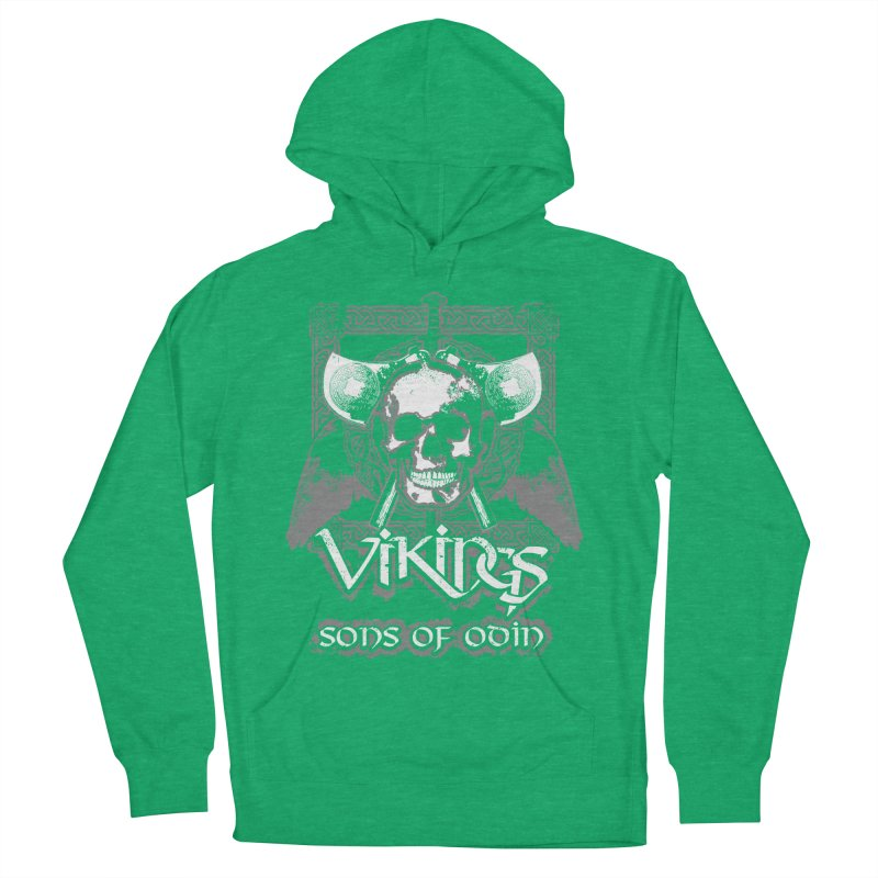 Sons of Odin - Distressed design Men's Pullover Hoody by Designs by Quicky