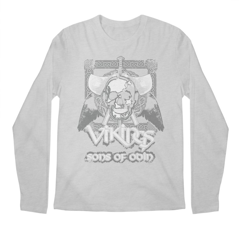 Sons of Odin - Distressed design Men's Longsleeve T-Shirt by Designs by Quicky
