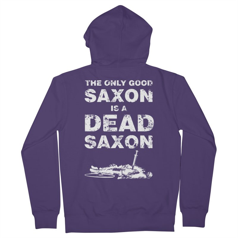 Dead Saxon Women's Zip-Up Hoody by Designs by Quicky