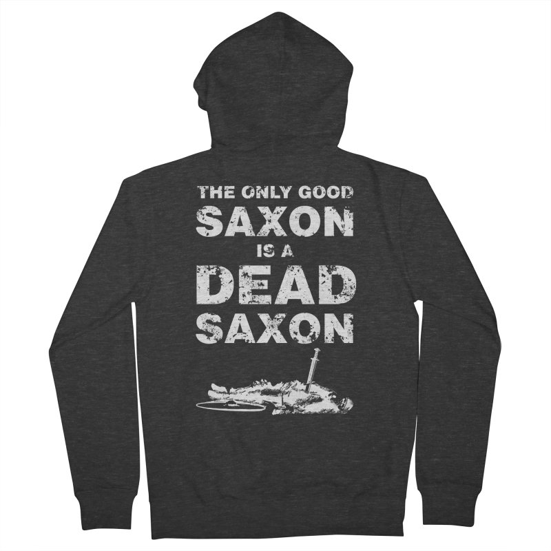 Dead Saxon Men's Zip-Up Hoody by Designs by Quicky