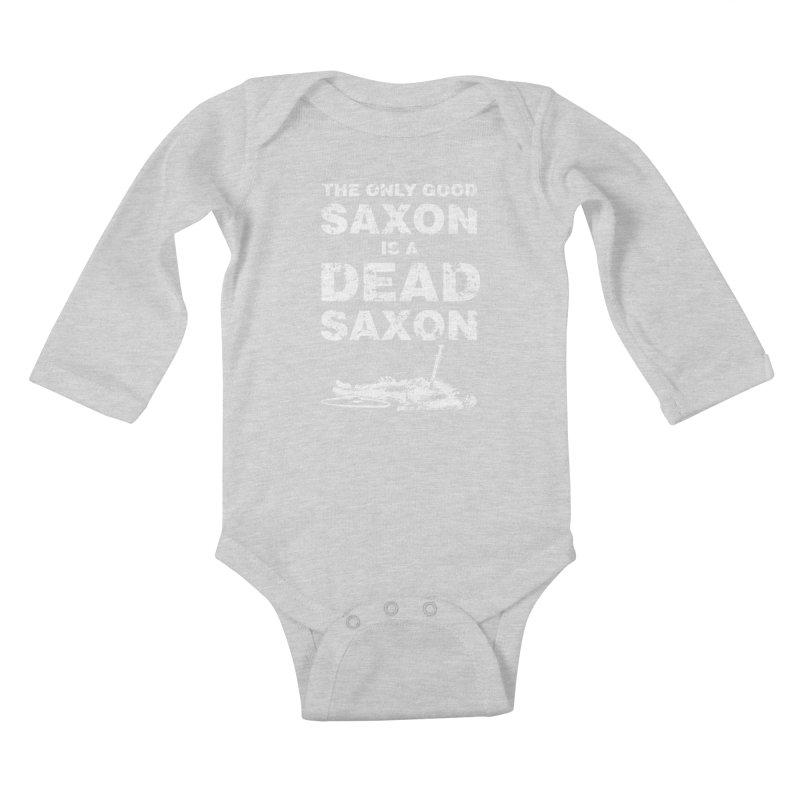 Dead Saxon Kids Baby Longsleeve Bodysuit by Designs by Quicky