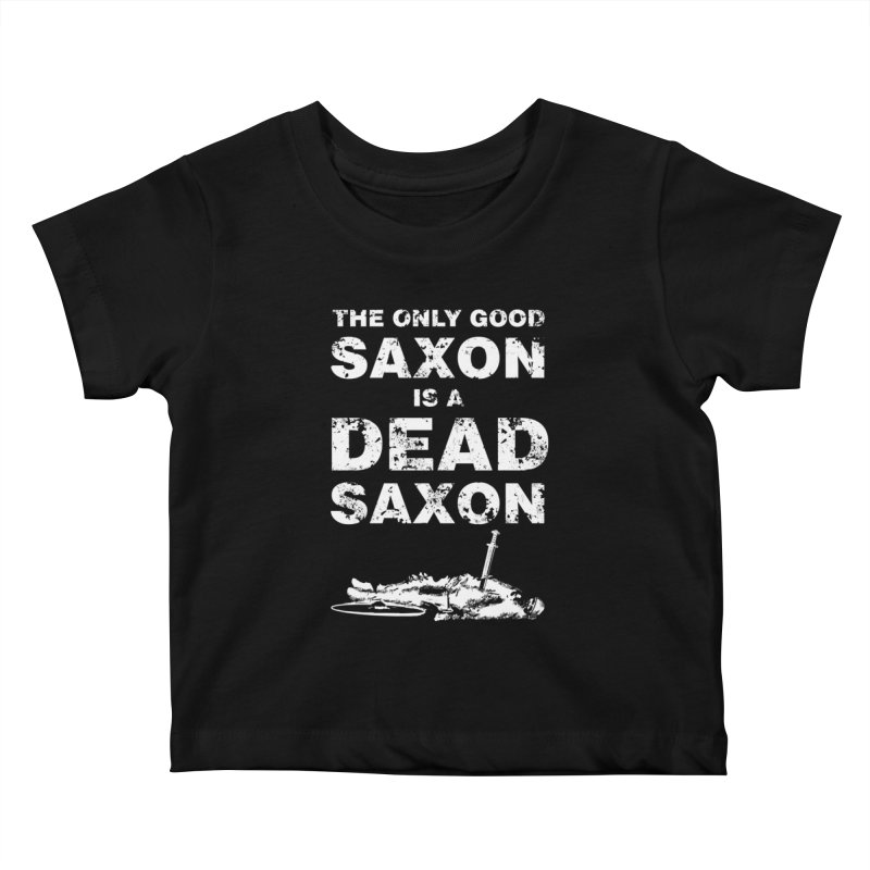 Dead Saxon Kids Baby T-Shirt by Designs by Quicky