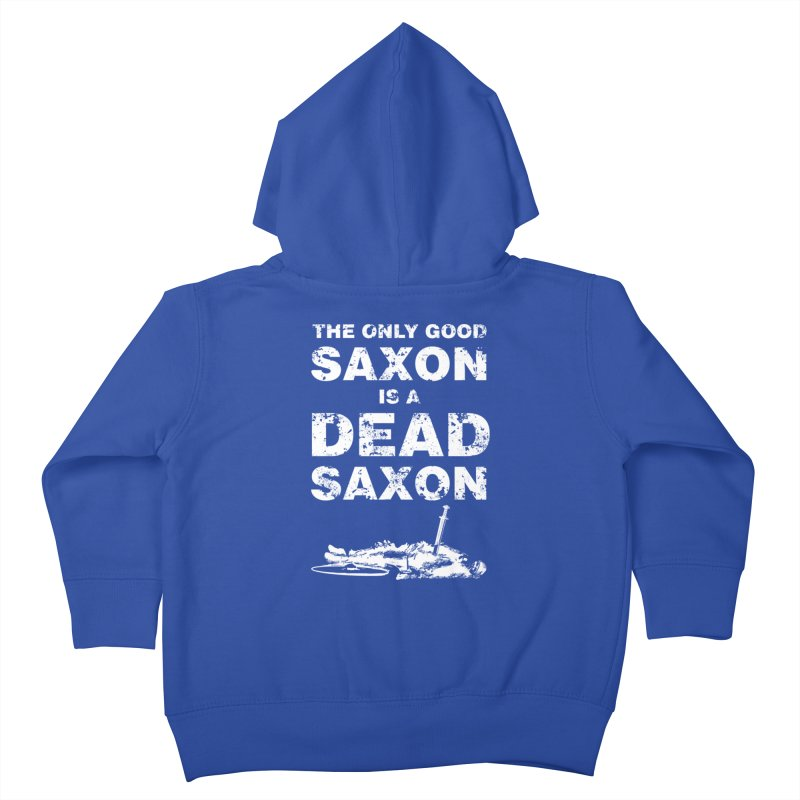 Dead Saxon Kids Toddler Zip-Up Hoody by Designs by Quicky