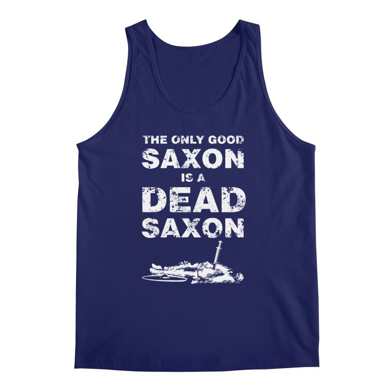 Dead Saxon Men's Tank by Designs by Quicky