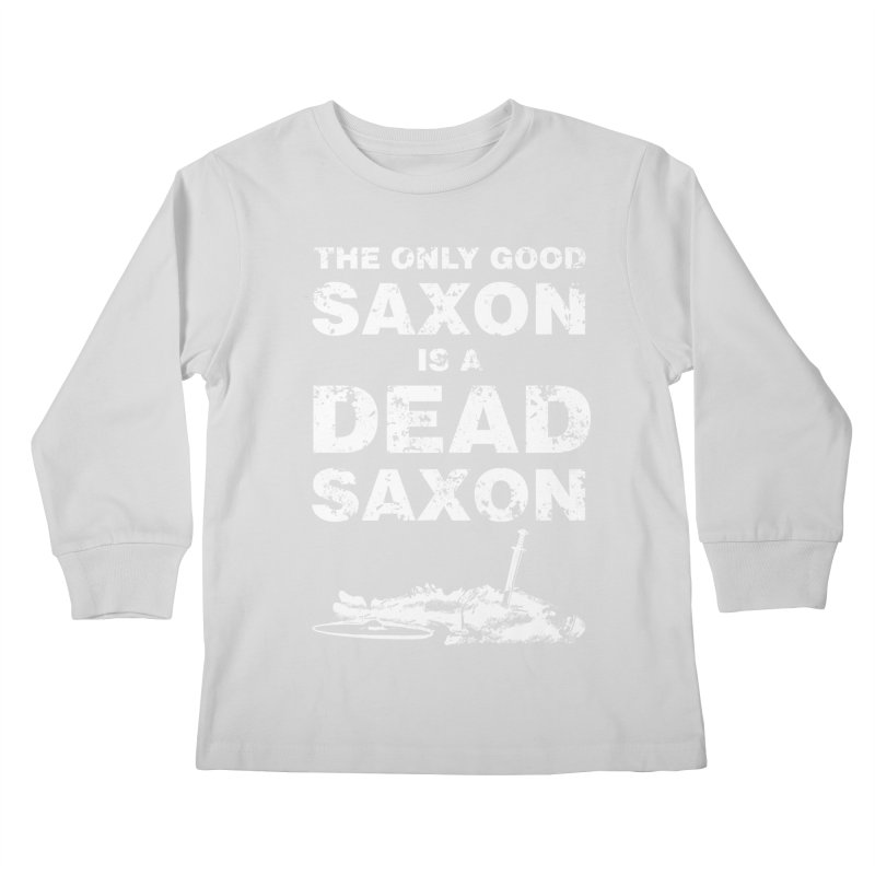 Dead Saxon Kids Longsleeve T-Shirt by Designs by Quicky
